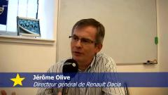 Jrme Olive, directeur gnral de Renault Roumanie  propos du modle Dacia