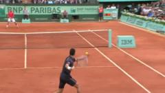 Les highlights du 1er set de Djokovic-Nadal
