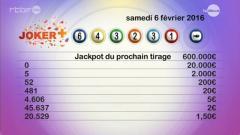 Revoir Rapports lotto - joker du 07 F�vrier