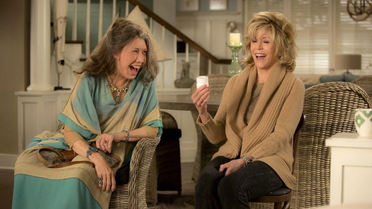 Grace et frankie netflix met la saison 3 sur les rails for A la maison blanche saison 3