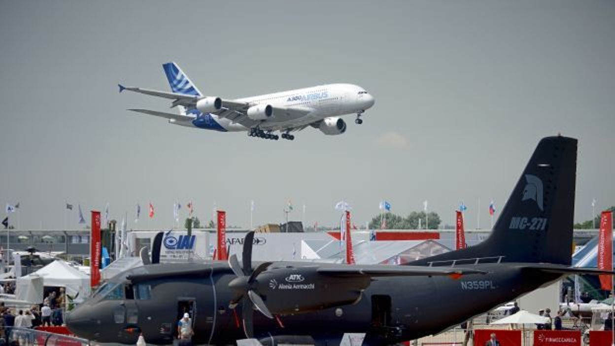 Salon a ronautique du bourget le grand boom - Salon aeronautique du bourget ...
