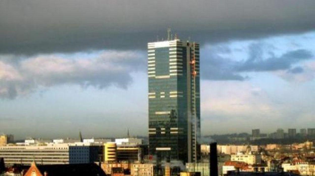 La plus haute tour de belgique c l bre son cinquanti me - Office national des pensions bruxelles ...