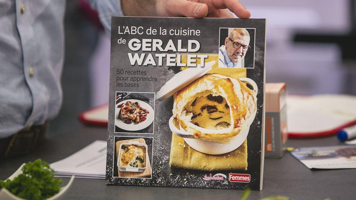 le nouveau livre de cuisine de gerald avec femmes d 39 aujourd 39 hui est remporter rtbf un gars. Black Bedroom Furniture Sets. Home Design Ideas