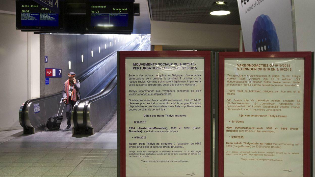 Gr ve du rail les syndicats veulent porter plainte - Porter plainte pour diffamation belgique ...