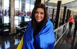 123 La pop star ukrainienne Ruslana distinguée pour son courage à Kiev