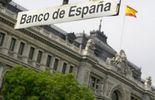 Vue d ela Banque d'Espagne prise le 8 juin 2012 à Madrid