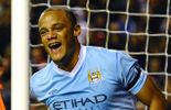 City bat Besiktas, Kompany buteur