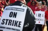 Les enseignants des écoles publiques de Chicago sont en grève depuis le 10 septembre.
