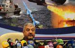 Conférence de presse du général Mohammad Ali Jafari, commandant en chef des Gardiens de la révolution, le 16 septembre 2012 à Téhéran