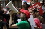Manifestation des enseignants à Chicago en juin 2011.