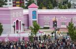 "123 Manifestations contre l'ouverture de la ""maison de Barbie"" à Berlin"