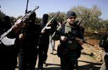 Des rebelles armés dans le nord de la Syrie.