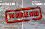 619 vs 0 morts: les dégâts d'un séisme en Chine et aux USA