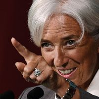 Christine Lagarde, présidente du Fonds monétaire international