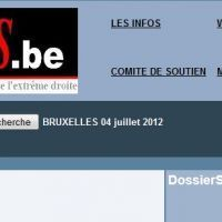 Capture d'écran du site internet ResistanceS.be