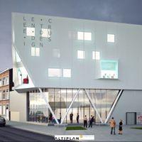 """Liège: le futur centre du design sera recouvert d'un textile """"high tech"""""""
