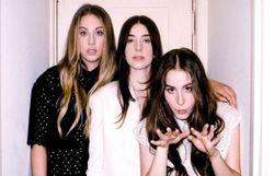 Les girls de Haim chez Calvin Harris