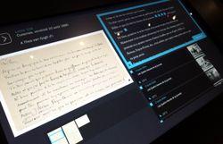 Les originaux des lettres de Vincent à son frère sont reproduits à côté des reproductions traduites