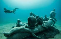 Découvrez les premières images d'un incroyable musée installé sous l'eau