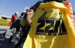 En Espagne, les marches pour la dignité de mars 2014 entendaient protester contre les politiques d'austérité accentuant le chômage de masse