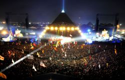 Flashback: Le Glastonbury Festival