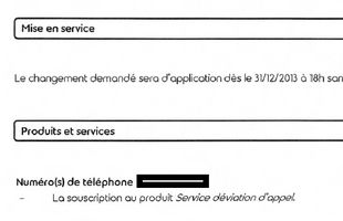 "Courrier de Belgacom qui ""confirme"" l'activiation pourtant non demandée du Phone Manager."