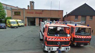 service incendie de Leuze-en-Hainaut