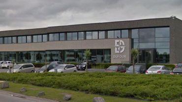 Le siège de l'entreprise Dufour, rue du Four à briques à Marquain