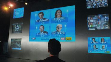 Elections présidentielles: les premiers résultats dès 18h sur la RTBF