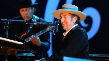 Bob Dylan au Festival des Vieilles Charrues en France, en juillet 2012
