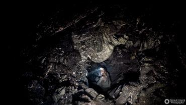 A 40 mètres de profondeur, dans le sous-sol du Katanga