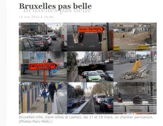 """Dans Libé, un portrait coup de gueule de """"Bruxelles pas belle"""""""