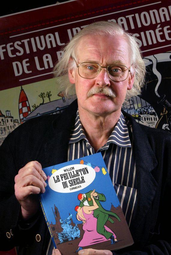 Le dessinateur et caricaturiste Willem
