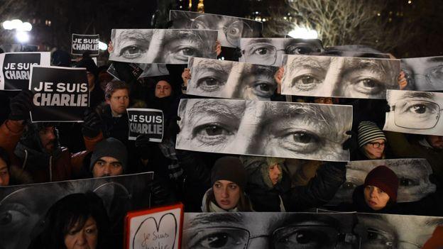 Rassemblement sur Union Square, à New York (Etats-Unis).