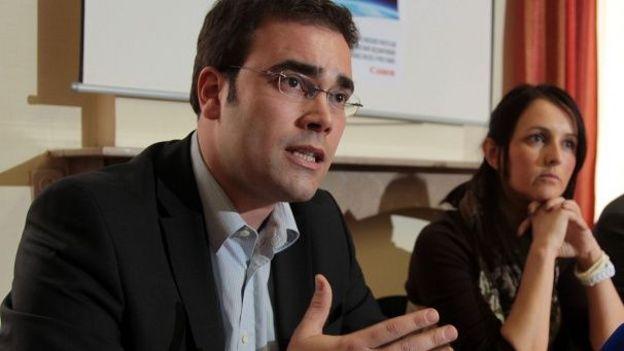 Antoine Tanzilli et Véronique Salvi, les deux échevins sortants de la liste.