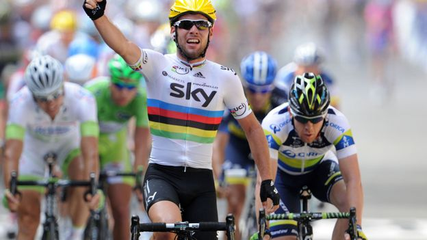 Cavendish s'impose à Tournai