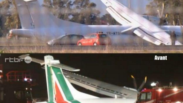 La Justice italienne, qui a mis l'appareil sous séquestre pour enquête, a néanmoins autorisé le retrait des couleurs d'Alitalia.