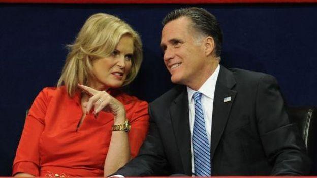 Ann et Mitt Romney