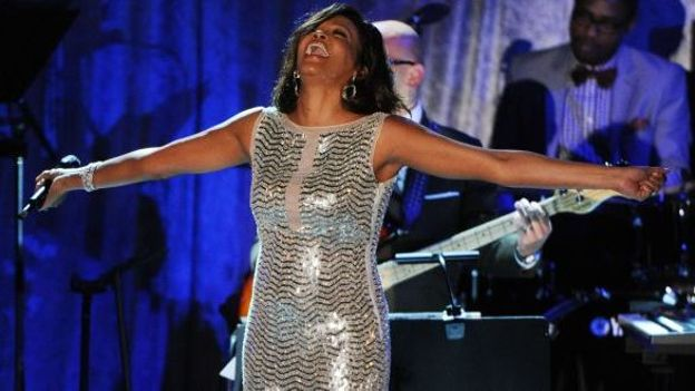 Whitney Houston en 2011
