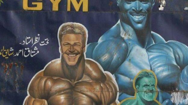Une affiche pour la  musculation en 2006