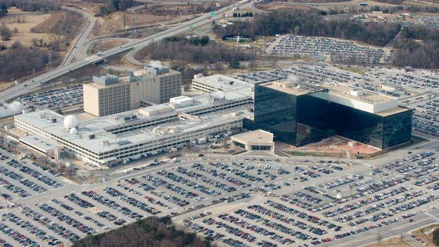 Le siège de la NSA à Fort Meade dans le Maryland