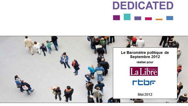 Baromètree La Libre / RTBF Decicated