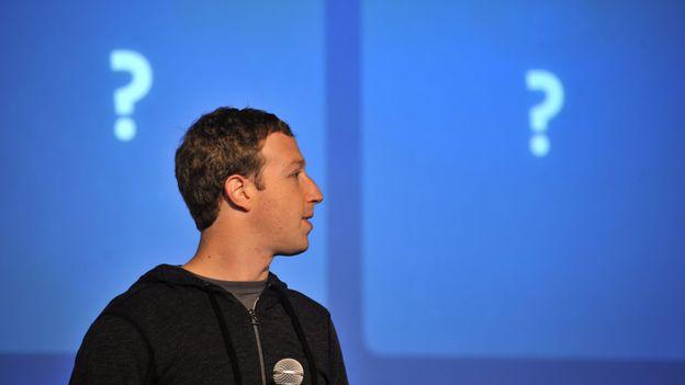 Mark Zuckerberg à la conférence pour le Graph Search, 2012