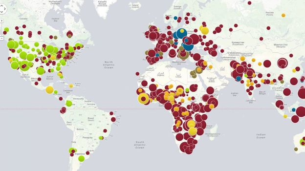 La carte interactive des ravages du mouvement anti-vaccination