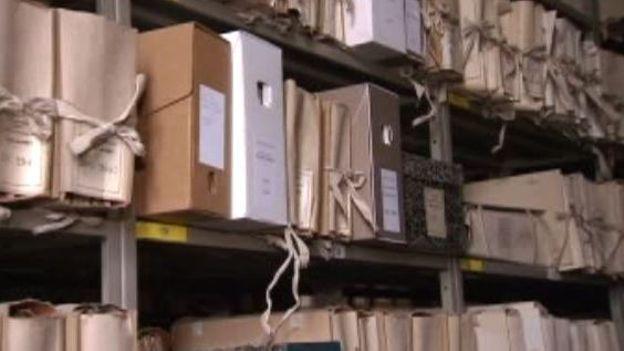Les archives de l'Etat