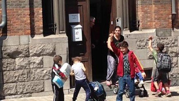 Quatre familles roms expulsées