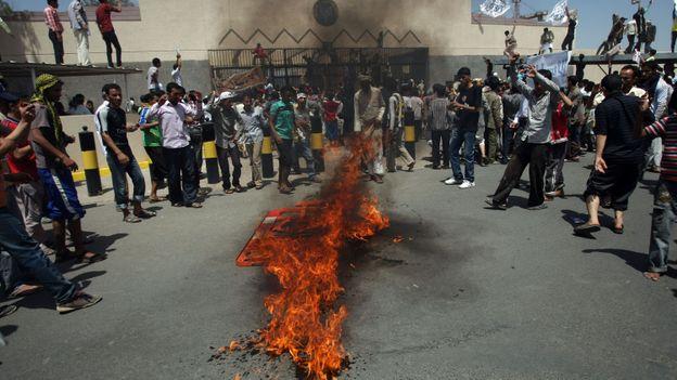 Manifestation au Yemen