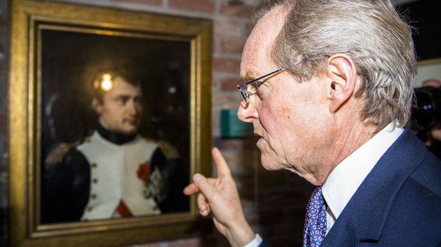 Le duc de Wellington a inauguré l'exposition événement Napoléon Wellington, destins croisés.