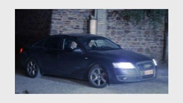 Michelle Martin arrive au monastère des Clarisses à Malonne