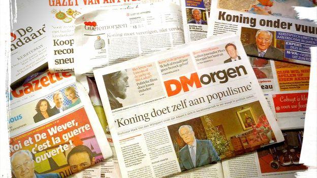 Le discours de Noël d'Albert II suscite la controverse en Flandre